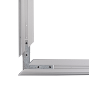 Aluminum frame for fabric displays DOUBLE-SIDED 120x85 cm on profile 49 mm