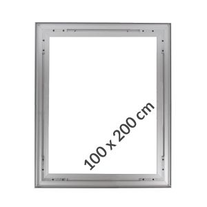 Aluminum frame for fabric displays HANGING 100x200cm on a 26 mm profile
