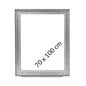 Aluminum frame for fabric displays DOUBLE-SIDED 70x100 cm on profile 49 mm