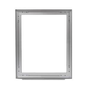 Aluminum frame for fabric displays DOUBLE-SIDED 120x180 cm on profile 49 mm